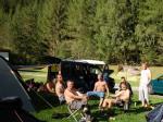V campingu